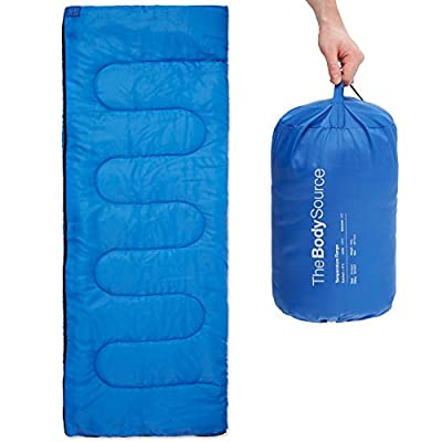 The Body Source Lightweight Envelope Sleeping Bag, 25°F