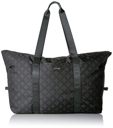 Baggallini Large Travel CHL LK duffel Bag, Charcoal Link, One Size