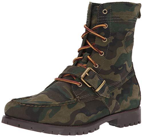 (Polo Ralph Lauren Men's Ranger Fashion Boot, Olive, 8 D US)