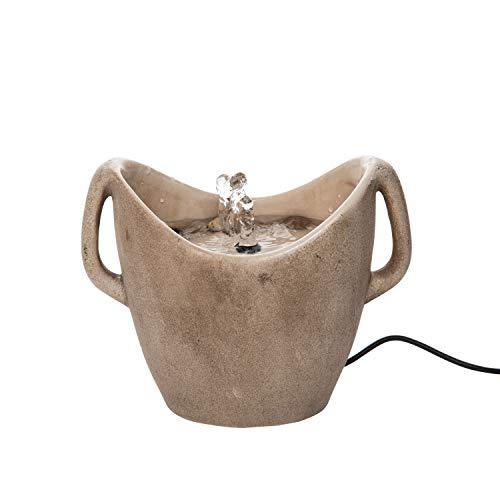 Foreside Home and Garden Vase Fountain, Brown ()