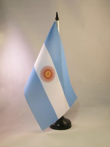 AZ FLAG Bandera de Mesa de Argentina 21x14cm - BANDERINA de ...