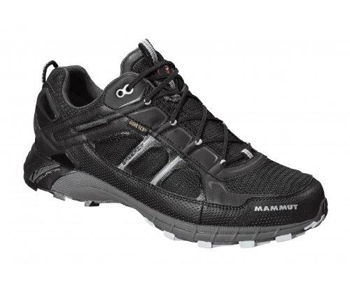 MAMMUT Claw II GTX Zapato de Outdoor Caballero, Negro/Plata, 43.5 black-silver