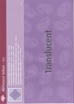 Vellum Paisley purple (5 sheets)