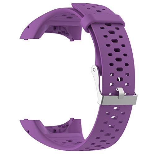 Price comparison product image VICCKI Sport Soft Silicone Watch Band Replacement Band Strap for for Polar M400 M430