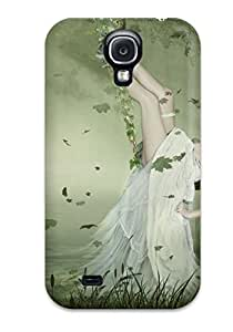 AnnDavidson Galaxy S4 Well-designed Hard Case Cover Woman In Swing Protector