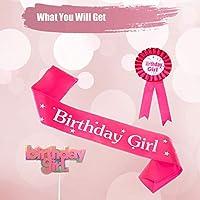 Amazon.com: Decoración para tartas y lazos de cumpleaños ...