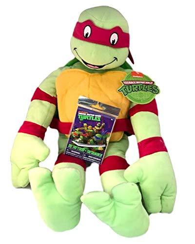 Amazon.com: Teenage Mutant Ninja Turtle Raphael Throw Pillow ...