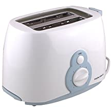 Morphy Richards At 202 2-Slice Pop-Up Toaster (White And Blue)