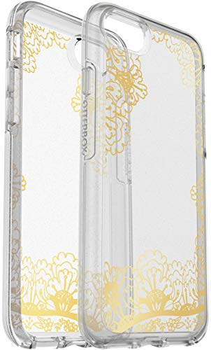 - OtterBox Symmetry Series Case for iPhone 8 & iPhone 7 Gold LACE Clear