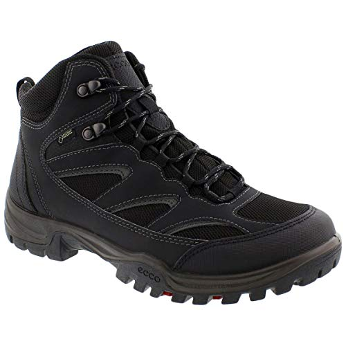 ECCO Men's Xpedition III Hiking Boot, Black/Black, 45 Medium EU (11-11.5 US)