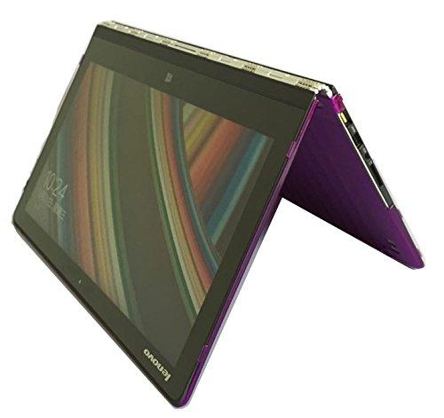 iPearl mCover Hard Shell Case for 13.9 Lenovo Yoga 910 (NOT Fitting Yoga 4 Pro aka Yoga 900) multimode Laptop Computer (Purple)