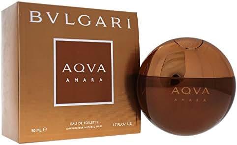 Bvlgari Aqva Amara Eau de Toilette Spray for Men, 1.7 Fluid Ounce