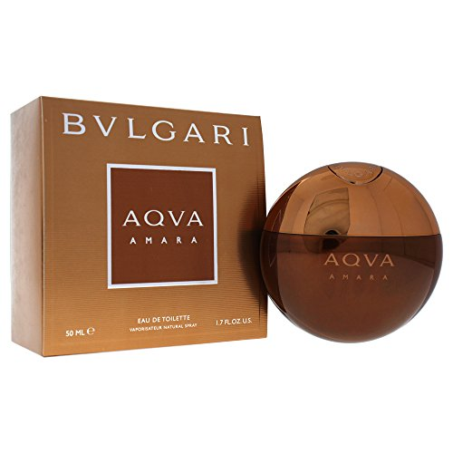 Bvlgari Aqva Amara Eau de Toilette Spray for Men, 1.7 Fluid Ounce