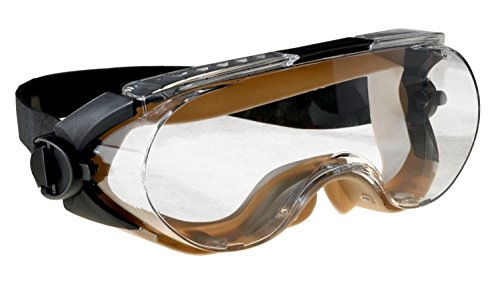 3M Maxim Safety Splash Goggle, 40671-00000-10 Over-the-Glass, Clear Anti-Fog Lens  (Pack of - Facial Shape Profile