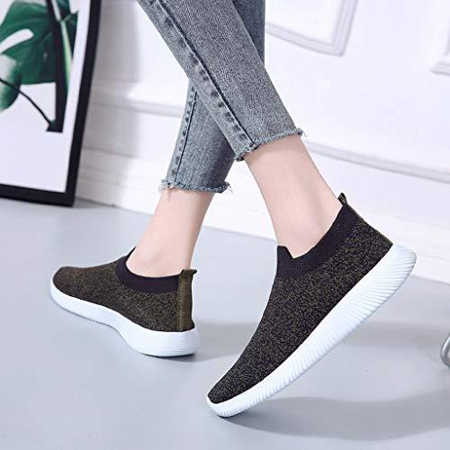 Libre Running zapatos Tacón En Para Con Slip Mujer Al Zapatos Shoes Alto Negroa Casual Tobillera Sports Playa Suelas Aire Cómodas Zarlle Doradas Malla Ecco YdwOYq