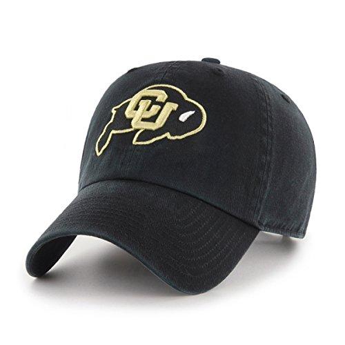 OTS NCAA Adult Women's Challenger Adjustable Hat Colorado Buffaloes, One Size, Black (Colorado Buffaloes Baseball)