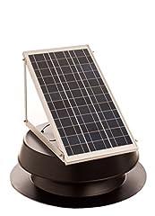 Solar attic Fan