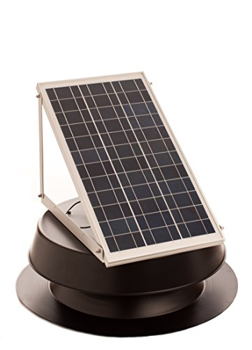Solar Powered Attic Fan (Solar attic fan 30 Watt)
