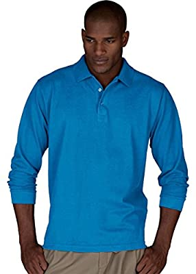 Edwards Garment Men's Big And Tall Wrinkle Resistant Polo Shirt