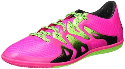 adidas Herren X 15.3 in Fußballschuhe Mehrfarbig (Shock Pink/Solar Green/Core Black)