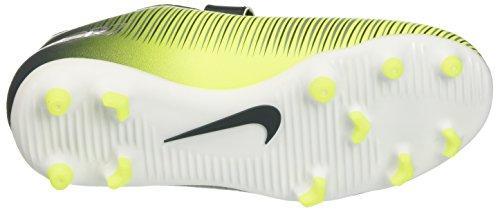 Nike Unisex-Kinder 852496-376 Fußballschuhe Mehrfarbig (Seaweed/Hasta/Weiß/Volt)
