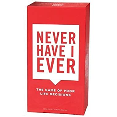 Never Have I Ever: The Game of Poor Life Decisions Card Game