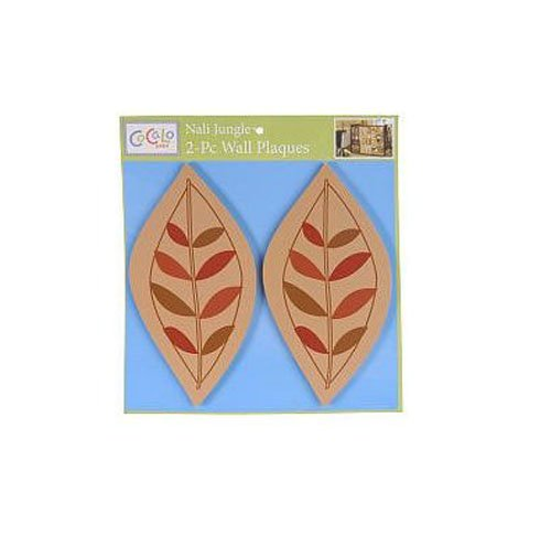 Cocalo Musical Lamp - CoCaLo Baby Nali Jungle 2 Pc. Decorative Wall Plaques - Diecut Wood Leaves