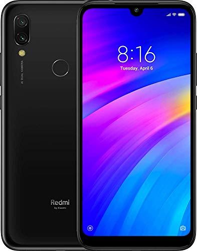 "Xiaomi Redmi 7 32Gb+3GB RAM 6.26"" HD+ LTE Factory Unlocked GMS Smartphone (Global Version) (Eclipse Black)"