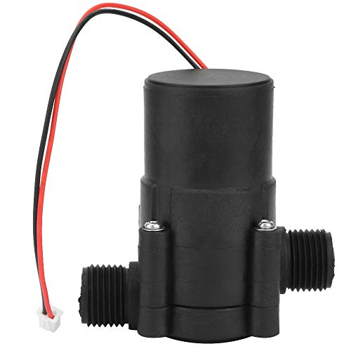 12V/3.5W Mini Pipe Water Power Generator DC Hydraulic Generator Micro-Hydro Generator Water Charger High Efficiency For Power Supply Charging (One-line)