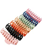 Patcmoro 7 PCS Big Hair Claw Clips - 4.3'' Nonslip Large Hair Claw Clips for Thick Hair, Strong Hold Hair Accessories Clips for Women/Girls