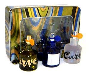 Liz Claibrone Collection By Liz Claiborne For Men.  Gift Set ( Eau De Toilette Spray 2.5 Oz Of Curve  & Chill & Kicks - Chill Set Curve Gift