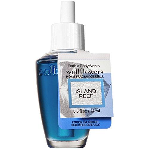 Bath and Body Works Island Reef Wallflowers Home Fragrance Refill 0.8 Fluid Ounce