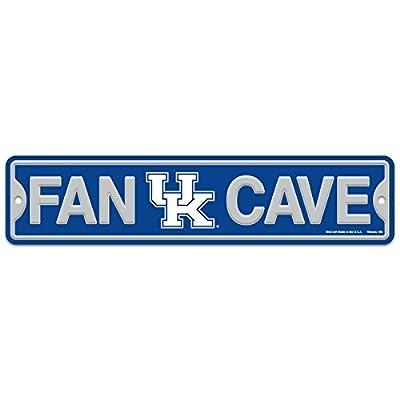 "WinCraft University of Kentucky Wildcats Plastic Fan Cave Sign 4"" x 17"" Street Sign NCAA"