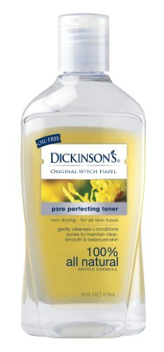 Dickinsons Original Witch Hazel Pore Perfecting Toner,  16oz Bottles(Pack of 6)
