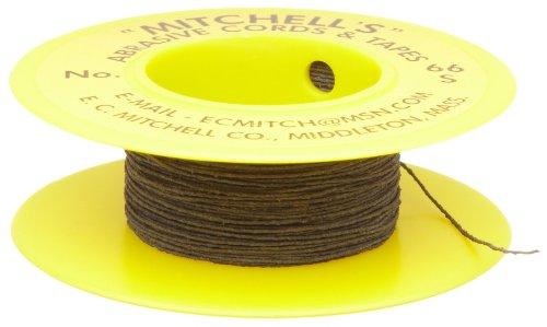 Mitchell Abrasives 66-S Round Abrasive Cord, Silicon Carbide 280 Grit .012