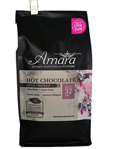 Amara Hot Chocolate Mix. Gourmet Dark Cocoa