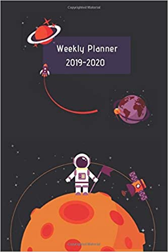 Weekly Planner 2019-2020: Sept 1, 2019 to Dec 31, 2020 ...