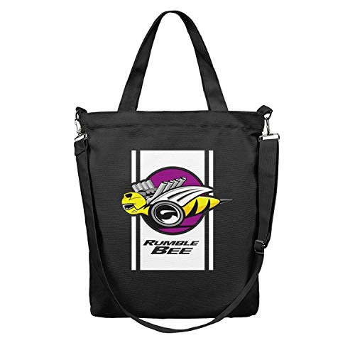 - Womens Tote Shopping Bag Dodge Ram Rumble Bee Canvas Reusable Shoulder Craft Shopping Bag Perfect for Shopping,Laptop,School Books