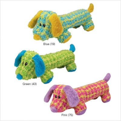 Grriggles Checker Chum Pink 12IN Dog Puppy Toy For Sale