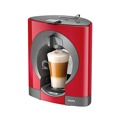 Krups OBLO Red Pod coffee machine 0.8L Gris, Rojo - Cafetera ...