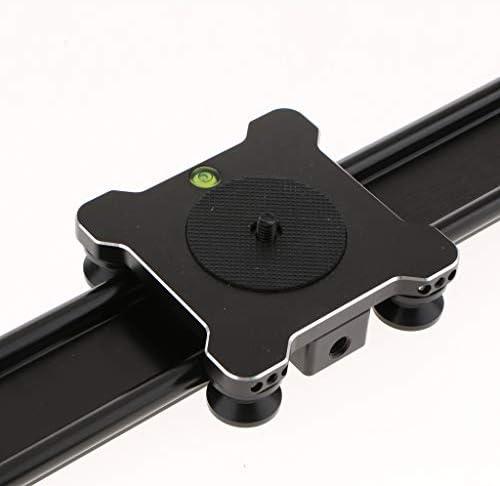 Baoblaze カメラトラック スライダ レール DSLRビデオカメラ用 スタビライザ アルミ 600x50mm
