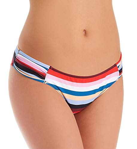 Smart and Sexy Swim Secret The Knockout Bikini Swim Bottom (SA1006) XL/Rhumba Stripes ()