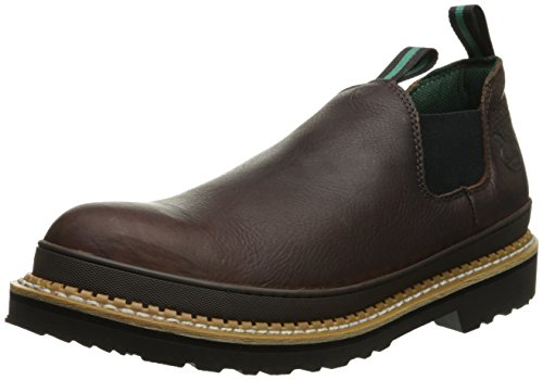 Georgia  Men's Giant Romeo Steel toe GS262 Work Boot, Soggy Brown, 11.5 W US