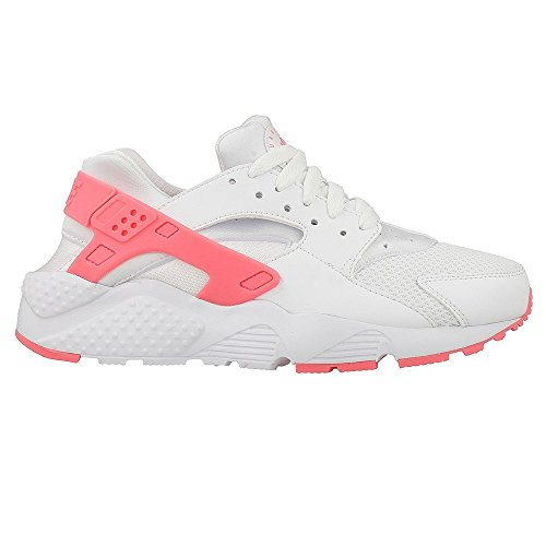 Nike Huarache Run (GS) White-Racer Pink - Sneakers Damen