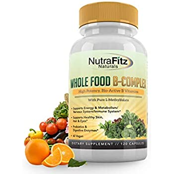 Amazon.com: Organic Vitamin B Complex (30 Caplets); Organic ...