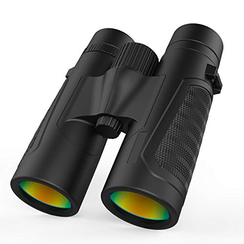 QQLK 12×42 Hd Binoculars Low Light Level Night Vision, Perfect for Concerts, Outdoor Travel, Bird Watching ()