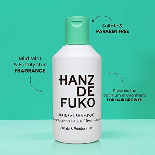 Kết quả hình ảnh cho hanz de fuko natural shampoo ingredients