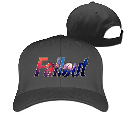 Price comparison product image Gameser Novelty Adult Fall Out 4 Action Role-playing Video Game Fishing Hats Caps Black