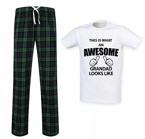 Esto Ropa que de impresionante un Tartn es lo Pijamas abuelo relajaci parece Pantalones rqPrAnv