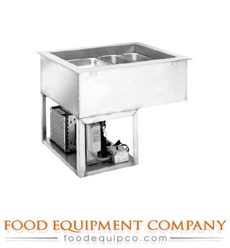 Drop In Single Tank (Wells HRCP-7600 Hot/Cold Drop In Unit 6-pan size single tank with switch for)